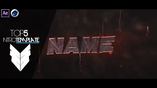 TOP 5 Intro Template #24 Cinema4D,After Effects CS4 + Free Download