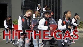 Raven Felix - Hit the Gas feat. Snoop Dogg & Nef the Pharoah | #HitTheGasDanceOn - Suga N Spice Crew