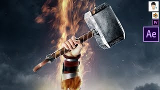 Thor -  vfx | Infinity war | Crispy Vidz