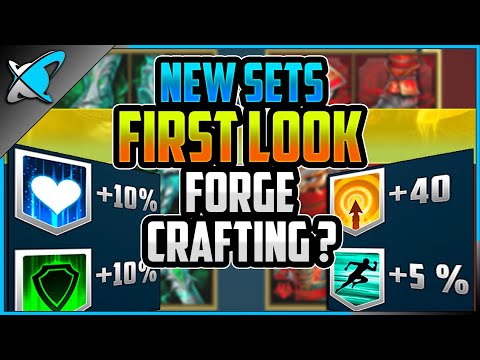 NEW SETS *FIRST LOOK* | Resilience & Perception | Forge Crafting !? | RAID: Shadow Legends