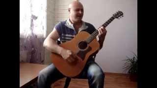 """""""Дулсинея"""" песен на Слави Трифонов и Ку - Ку бенд - кавър на акустична китара"""