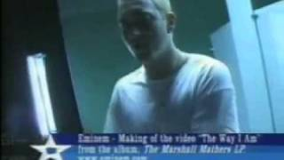 Eminem - The Way I am [Behind The Scenes] 2000