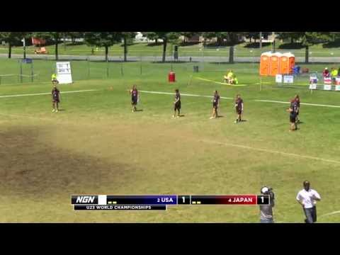 Video Thumbnail: 2013 WFDF World U-23 Championships, Women's Gold Medal Game: USA vs. Japan