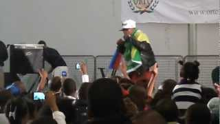 RAHIL KAYDEN - TIENS MOI REMIX 2012 (LIVE)