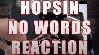 Hopsin - No Words (REACTION)