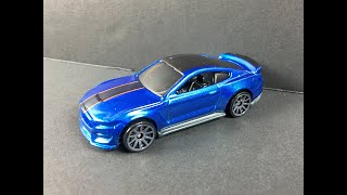 Hot Wheels Ford Mustang Shelby GT350R Review 1:64