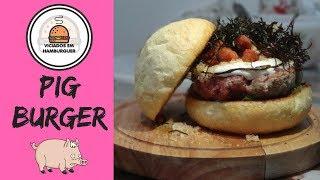 PIG BURGER - Viciados em Hambúrger