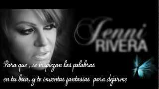 Jenni Rivera-La Misma Gran Señora ||Con Letra||