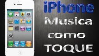 Musicas como toque no iPhone