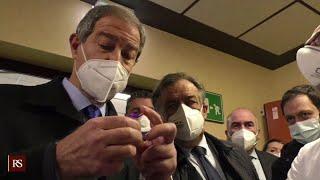 V-Day inizia la vaccinazione in Sicilia - www.canalesicilia.it