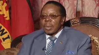 EXCLUSIVE: Malawi President - Bingu wa Mutharika width=