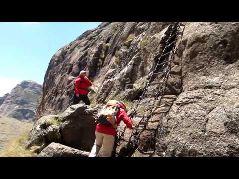 Chain Ladders, Amphitheater Hike, South Africa