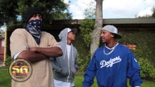 Tiny Crip Cal (T.C.) from Altadena Blocc Crip on doing 12 years in prison and being back