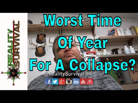 When Is The Worst Time Of Year For A Collapse?
