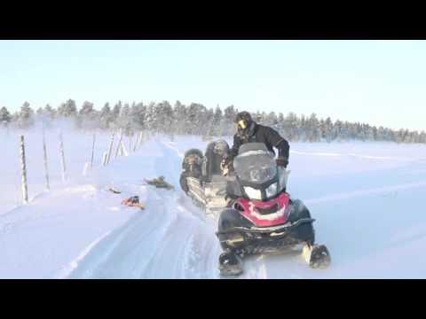 フィンランドの冬の魅力を探る探検旅行 - ステージ9 北極圏のカウボーイキャンプ