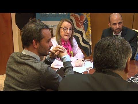 Alicia se reunió con trabajadores y representantes del sector pesquero