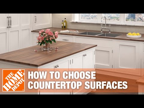 How to Choose Your Countertop Surface