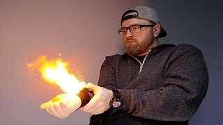 The Wrist Mounted Flamethrower!