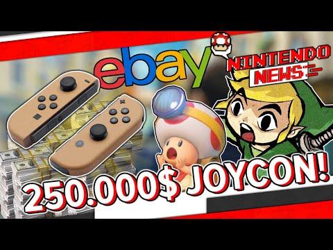 Joy Con für 250.000$? - NintendoNews