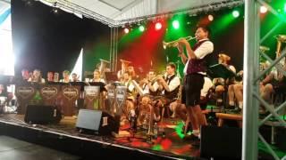 Brauhaus Musikanten Live am Woodstock der Blasmusik.  Bei  mir bist du schön