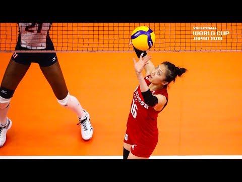 Ding Xia 丁霞 - Best Setter | World Cup Dream Team 2019