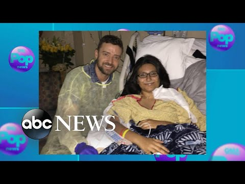Santa Fe school-shooting victim surprised by visit from Justin Timberlake