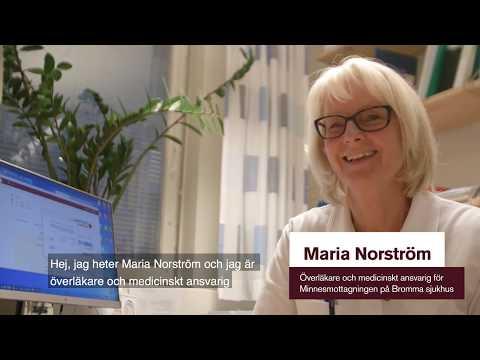 Minnesmottagningen på Stockholms Sjukhem i Bromma