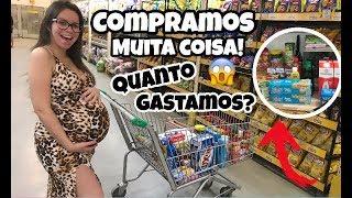 ÚLTIMAS COMPRAS DO MÊS, ANTES DA NOSSA FILHA CHEGAR | Amanda Silva