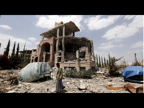 Yemen: A city on the front lines devastated by conflict