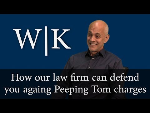 Defenses to Peeping Tom Charges