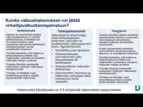 Suomi.fi valtuudet