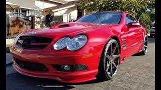 615HP RennTech 'Stage 6' Mercedes SL55 – One take