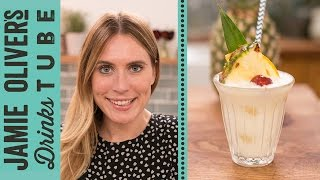 Virgin Piña Colada Mocktail | Becky Sheeran