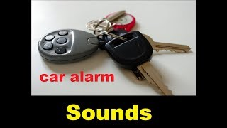 Car Alarm Sound Effects  All Sounds