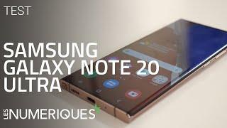 vidéo test Samsung Galaxy Note 20 Ultra par Les Numeriques