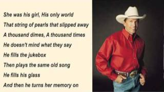 George Strait - Fool Hearted Memory with Lyrics