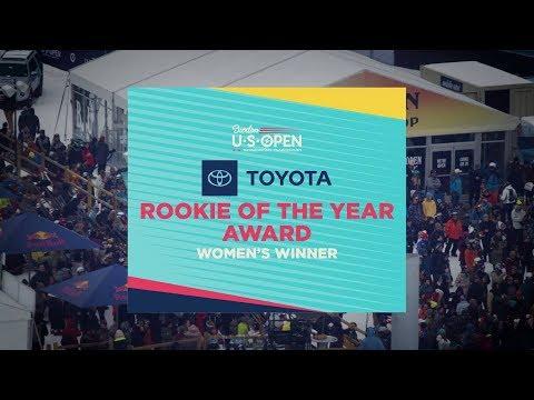 2019 Burton U·S·Open ? Toyota Rookie of the Year Winners