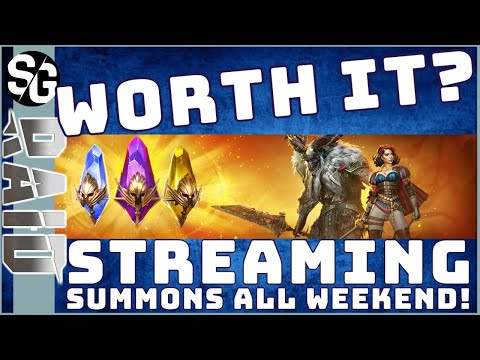 RAID SHADOW LEGENDS | 10x EVENT! WORTH IT? STREAMING SUMMONS ALL WEEKEND!