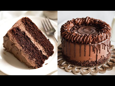 Perfect and Easy Cake Recipes | So Yummy Chocolate Cake Decorating Compilation