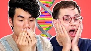 The Try Guys Take An Ancestry DNA Test width=