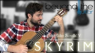 Skyrim: Dragonborn - Main Title Theme Classical Guitar Cover