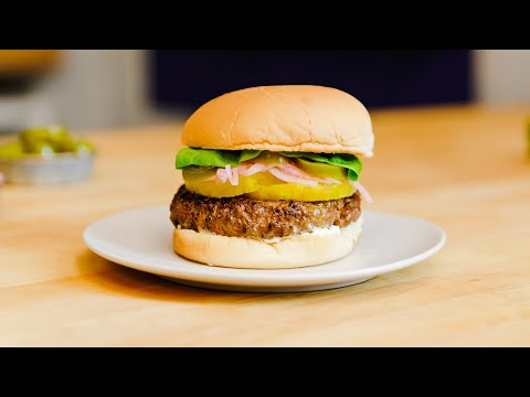 Think Outside the Box with a Sweet & Spicy Pineapple Burger