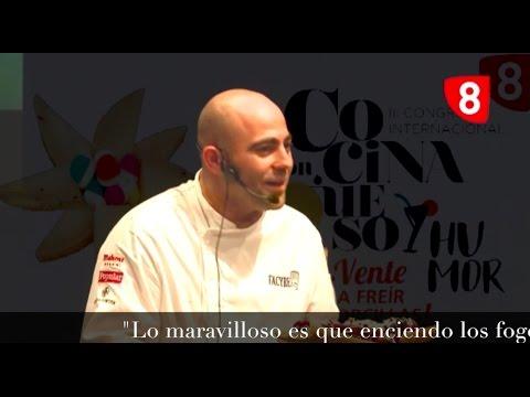 Las Mecas, III Congreso Cocina con Queso y Humor, Helio Flores.