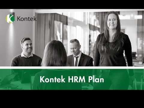 Kontek HRM Plan