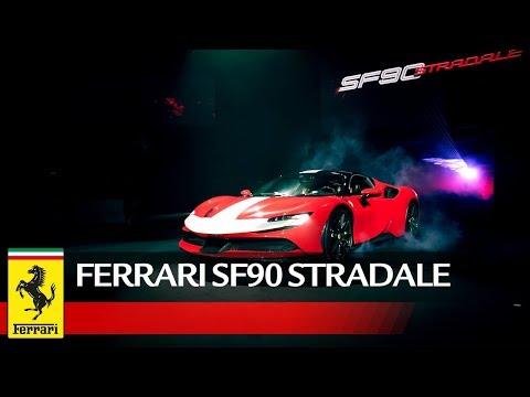 The SF90Stradale debut in Japan
