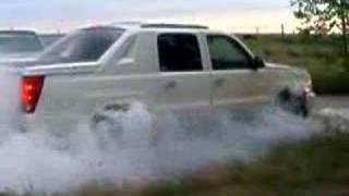 AWD burnout