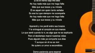 El (Tema de Eva Luna) con letra 2012 -Cover Christy