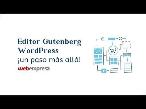 Guía Tutorial Editor Gutenberg - WordPress