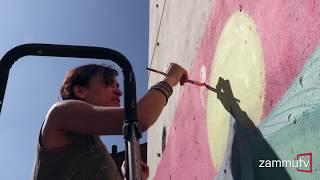 Street Art a Catania. Diala Brisly ospite del SabirFest