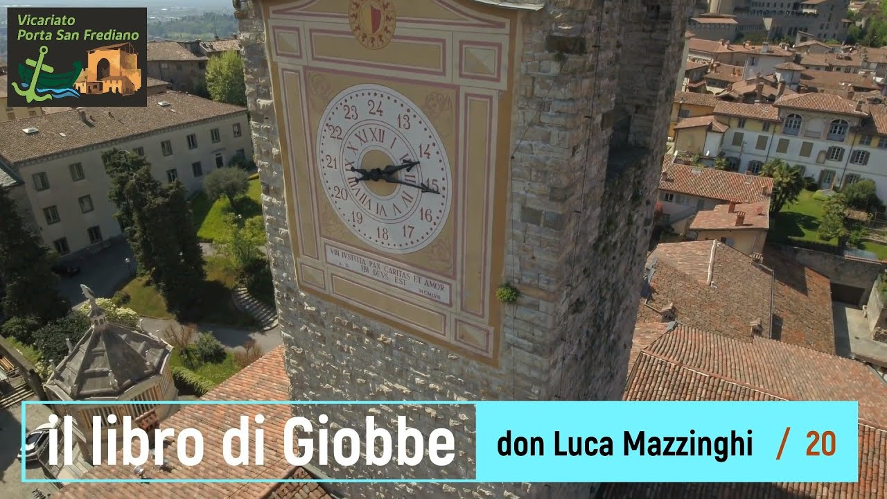 Il libro di Giobbe – 20 – Giobbe (cap. 38-41), I discorsi di Dio (seconda parte) – prof. Luca Mazzinghi